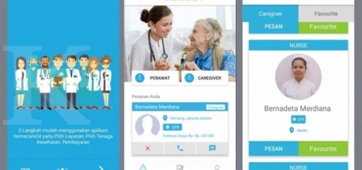 Perusahaan startup terus bermunculan. Yang baru startup bergerak di sektor kesehatan muncul Homecare24. Ini adalah aplikasi online yang diklaim menjadi yang pertama di Indonesia menyediakan jasa home care dan perawat kesehatan bersertifikat.